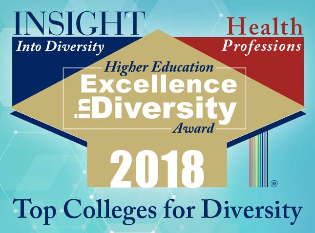 Insight Into Diversity Magazine's Higher Education Excellence in Diversity Award 2018